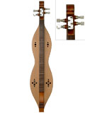 Blue Lion Style��Walnut Mountain Dulcimer